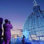 Новогодняя иллюминация в Москве 2021