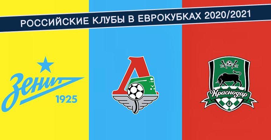 Россия в еврокубках 2021/2022