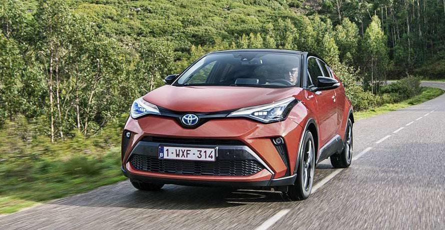Новинки Toyota 2021-2022 года