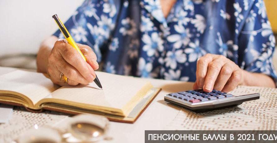 Пенсионные баллы в 2021 году: стоимость